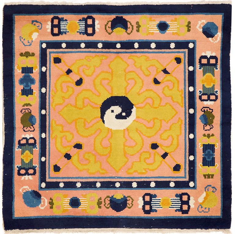 Alter Ning Hsia-Meditationsteppich